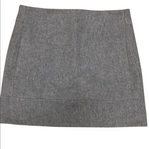 J Crew wool mini skirt